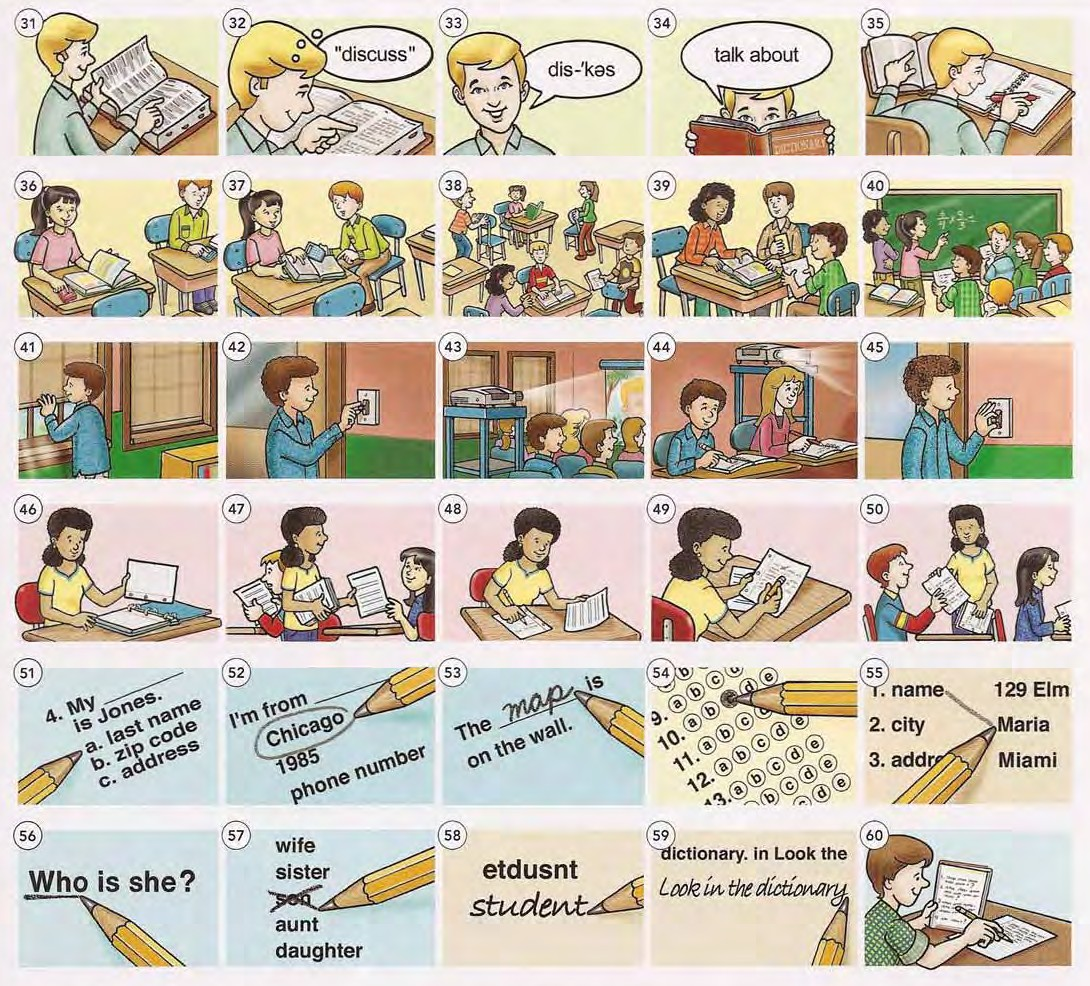 Classroom Actions 2