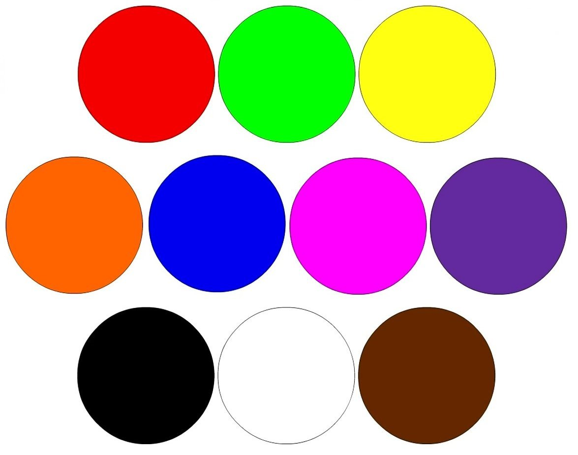 10 Basic Colors