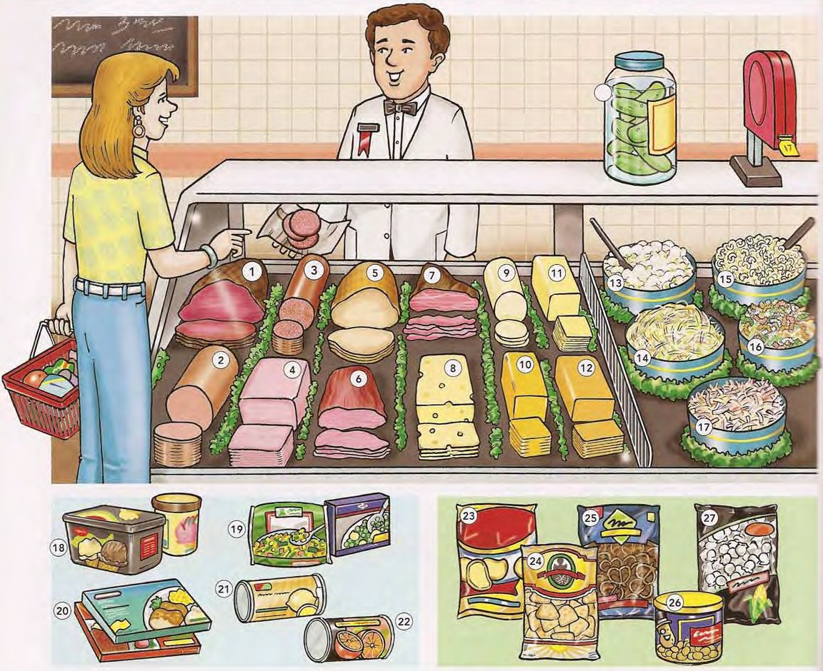 Deli, Foods, and Snack Foods